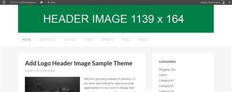 sahifa theme header size add header image logo to genesis 2 0 sle theme