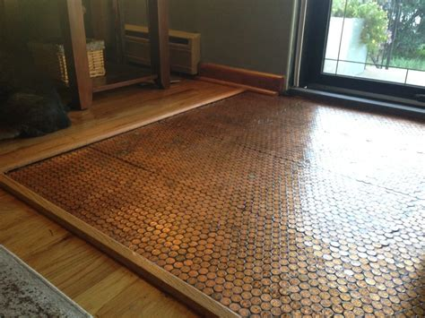 Copper Penny Floor (Part 4 of 4): Sealing the Floor #