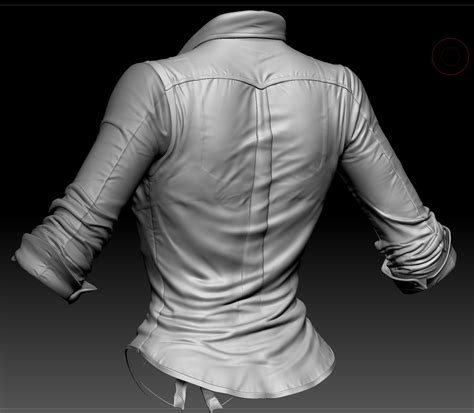 zbrush shirt tutorial blonde realtime character addl pics pg 6 page 6 cg