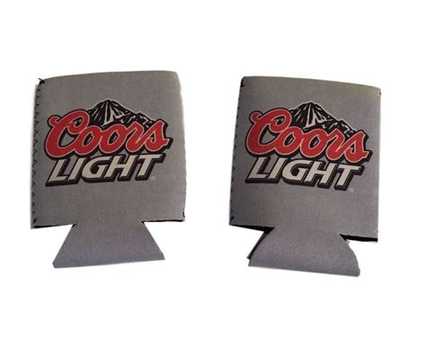 coors light mountain cooler coors light mountain logo gray can beverage cooler