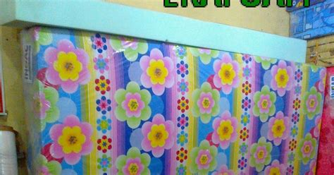 Kasur Bed Terbaru kasur inoac motif bunga cerah 23 06 2014 agen resmi