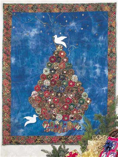 free christmas quilt patterns christmas yo yo