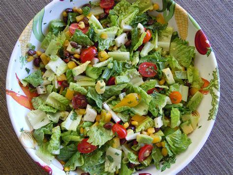 salad recipe mexican chopped salad with cumin vinaigrette recipe dishmaps