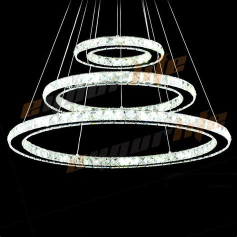 Circle Of Light Chandelier Led Galaxy Chandelier Living Room Circle Pendant