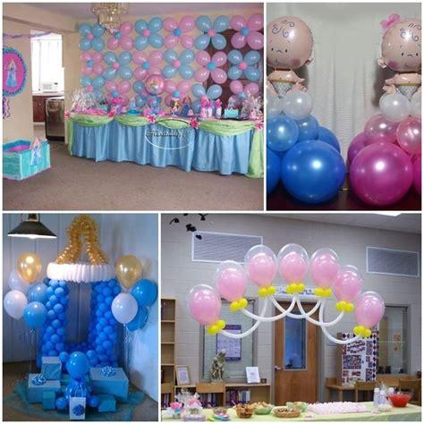 como decorar con globos en un baby shower arreglos para baby shower 191 c 243 mo hacerlos paso a paso