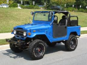 Toyota Landcruiser Parts Toyota Land Cruiser Fj40 Technical Details History