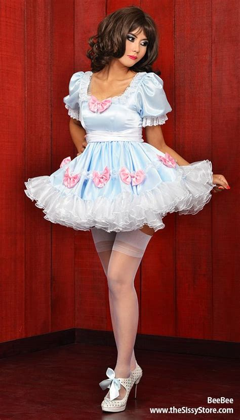 bee bee satin sissy dress 23 best images about pics i like on pinterest sissy