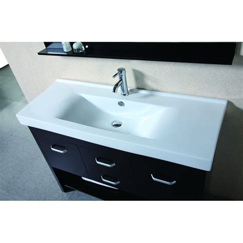 design element citrus design elements citrus 48 quot single sink vanity set dec074s