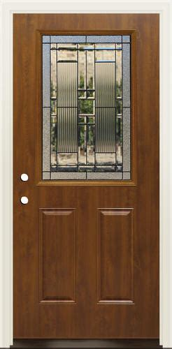 Mastercraft Exterior Doors Mastercraft La 656 Steel Oak Half Lite Prehung Ext Door At Menards 174