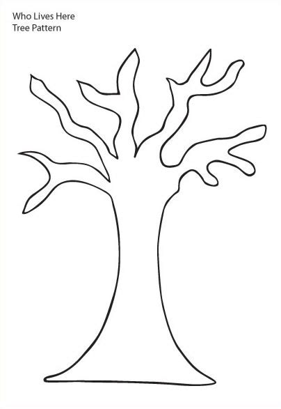 free big tree coloring pages