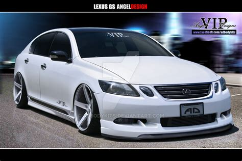 lexus gs300 angeldesign front by adbodykits on deviantart