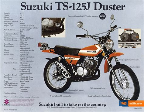 1972 Suzuki Ts 125 1972 Suzuki Ts 125 Picture Mbike