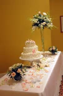 Wedding table flowers cake ideas and designs
