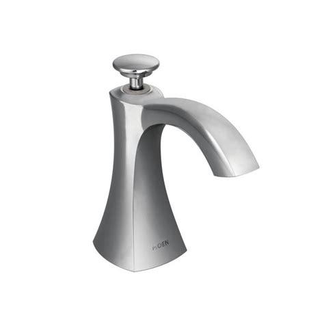 moen kitchen faucet with soap dispenser moen s3948 chrome deck mounted soap dispenser