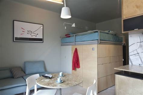 square meter apartment  ingenious storage solutions