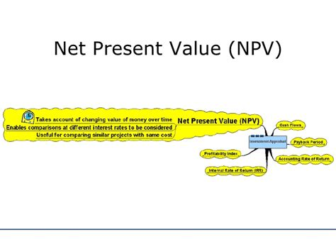 Net Present Value Mba Math by Investment Appraisal