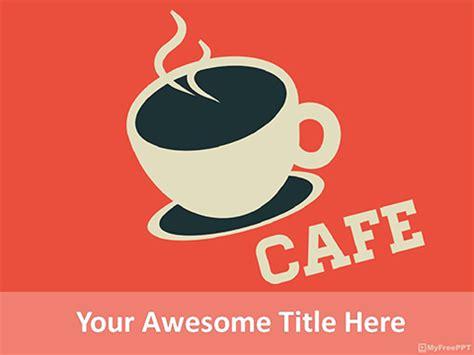 Free Menu Card Powerpoint Templates Myfreeppt Com Free Ppt Templates Coffee