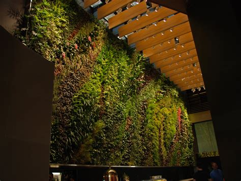 Singapore Vertical Garden Capitaland 6 Battery Road Rainforest Rhapsody Singapore