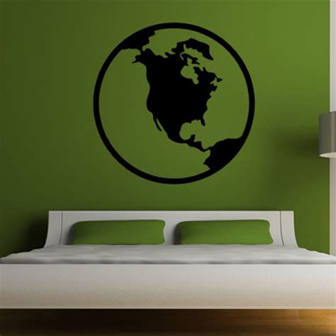 Planets Wall Stickers Earth Planet Wall Decals Pics About Space