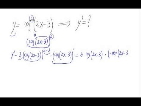 derivada de coseno cuadrado derivada coseno al cuadrado youtube