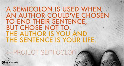 meaning   semicolon tattoo grammarly