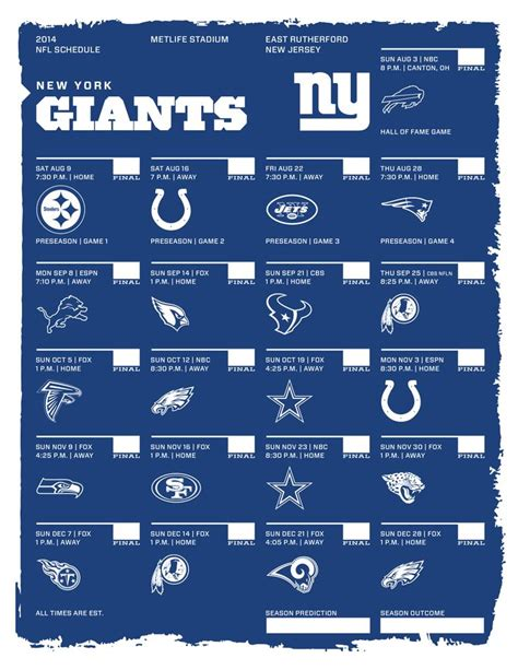 printable nfl giants schedule giants schedule 2015 16 calendar template 2016