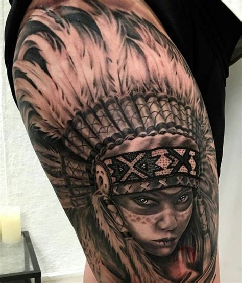 native tattoo pinterest love americanindian indian headress nativeamerican