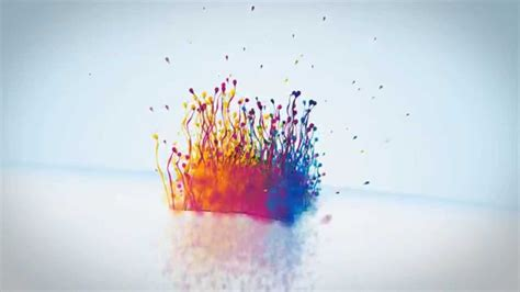 watercolor explosion tutorial after effects template particle splash logo reveal youtube