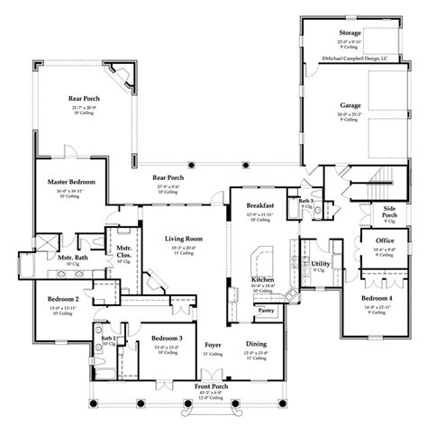 Acadian Floor Plans | acadian design house plans 171 floor plans