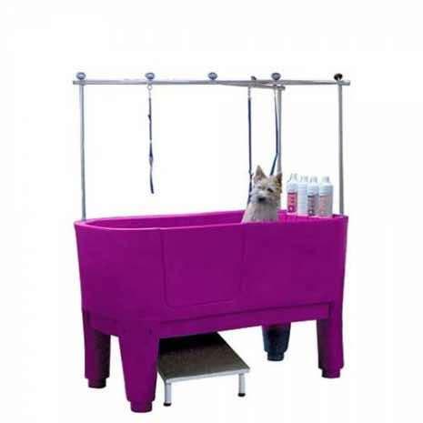 vasca per toelettatura vasca toelettatura per lavaggio cani fucsia tutte le
