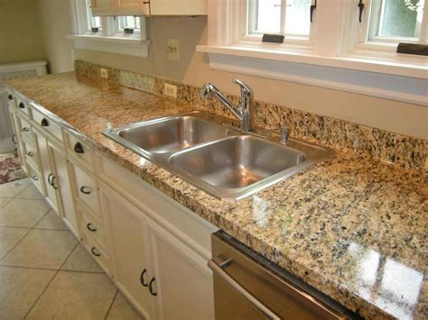 Artificial Kitchen Countertops by Faux Granite Diy Installation Heartwork