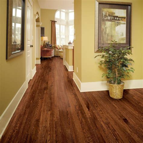home legend wire brushed barstow oak 1 2 in t x 2 3 4 in
