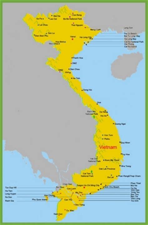 printable vietnam road map vietnam maps maps of vietnam