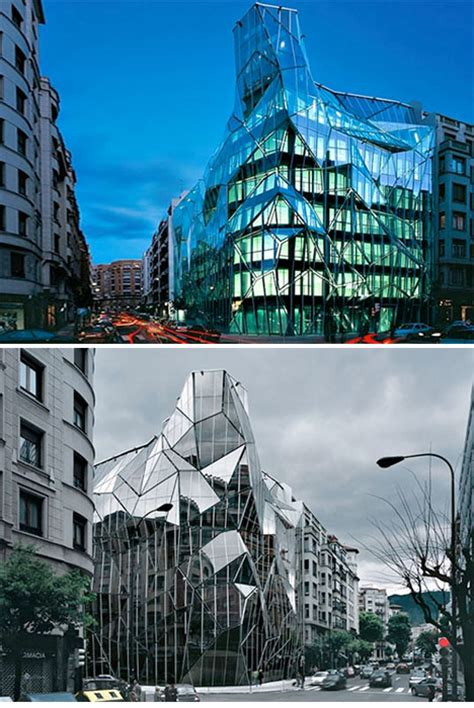 Origami Building - origami inspired architecture 14 geometric structures