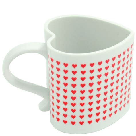 heart shaped mug i love you heart shaped heat chaning mug holycool net