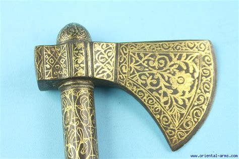 ottoman axe oriental arms fine battle axe ottoman east europe