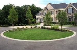 circular driveway landscaping ideas landscape ideas pinterest