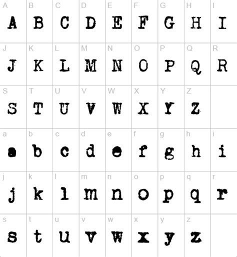 printable typewriter font typewriter font printables pinterest