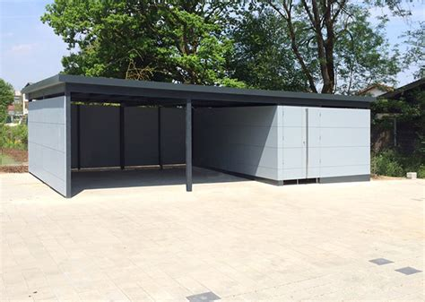 Carport Garage Kombination Holz by Design Carports Gartana Bilder Carports