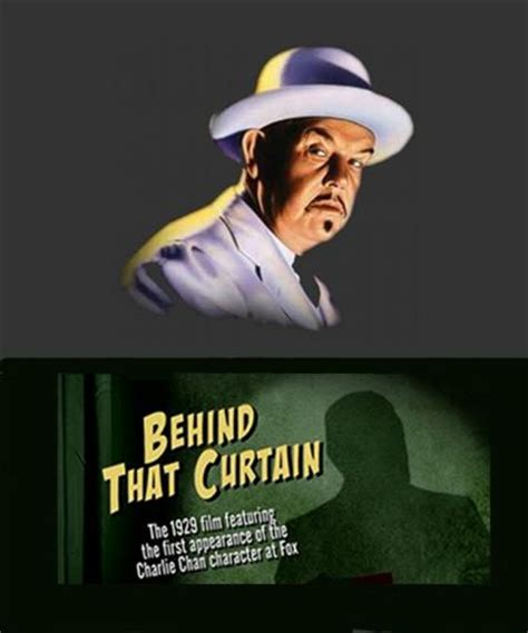 behind that curtain 1929 charlie chan behind that curtain 1929 on collectorz com