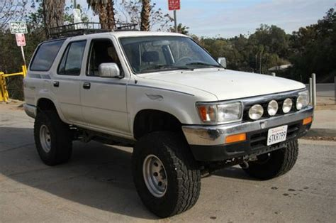 how petrol cars work 1993 toyota 4runner interior lighting sell used 1993 toyota 4runner sr5 sport utility 4 door 3 0l in los angeles california united
