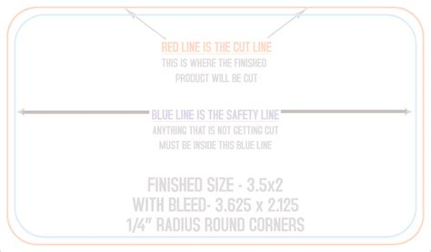 4over business card template all corners 3 5 x 2
