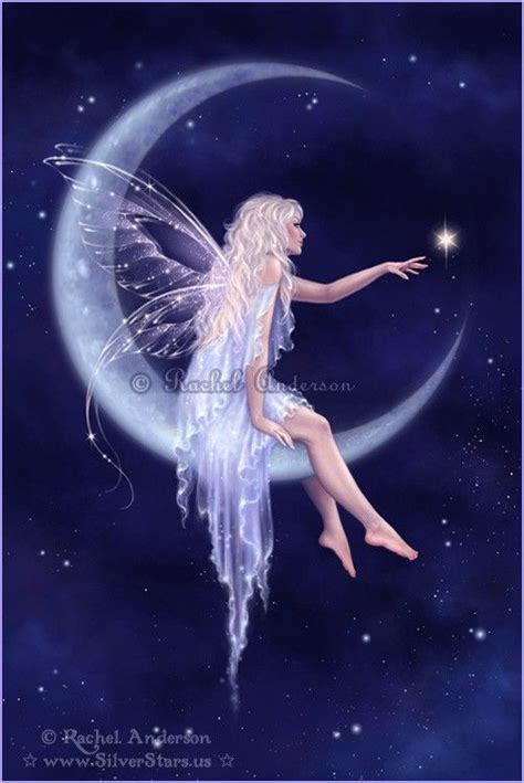 moon and stars fairy l moon fairy creatures of myths and legends pinterest