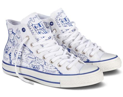 How To Decorate Your Converse by Scribbled Sneakers Kevin Lyons X Converse