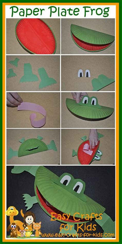 How To Make A Paper Frog Tongue - best 25 frog crafts ideas on frog crafts