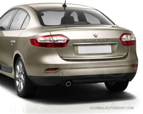 renault fluence trunk renault fluence rear chrome trunk lid trim rear chrome trim
