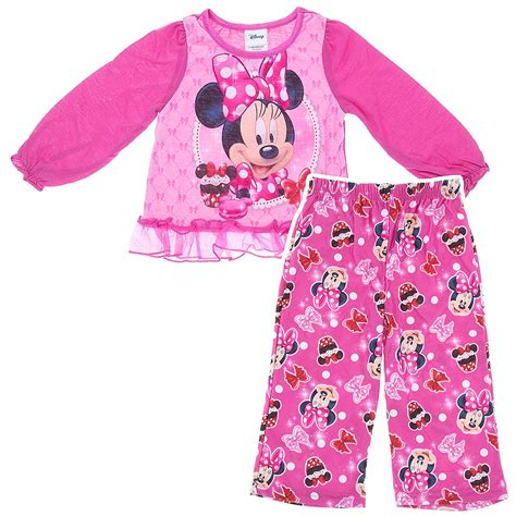 two pajamas for toddlers minnie mouse cupcake pajamas for toddler