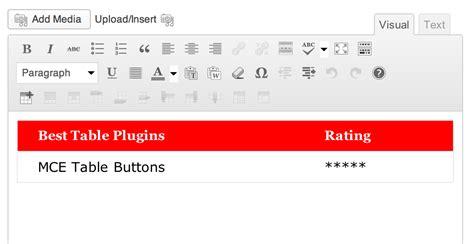 layout editor wordpress plugin mce table buttons wordpress plugins