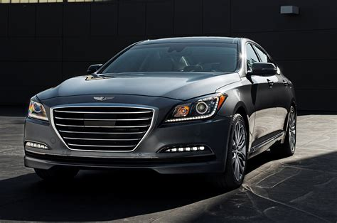 2015 hyundai genesis 2015 hyundai genesis front three quarters photo 1