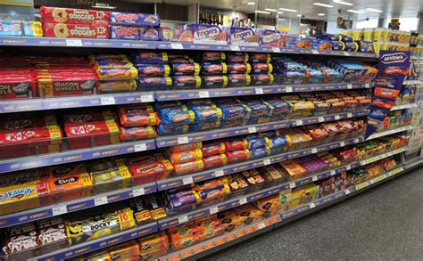 Shelf Of Biscuits by Brits Eat The Most Treats Scottish Grocer Convenience
